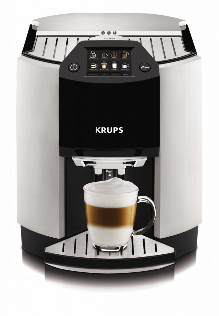 krups ea9000 barista full automatic one touch espresso cappuccino machine super. Black Bedroom Furniture Sets. Home Design Ideas