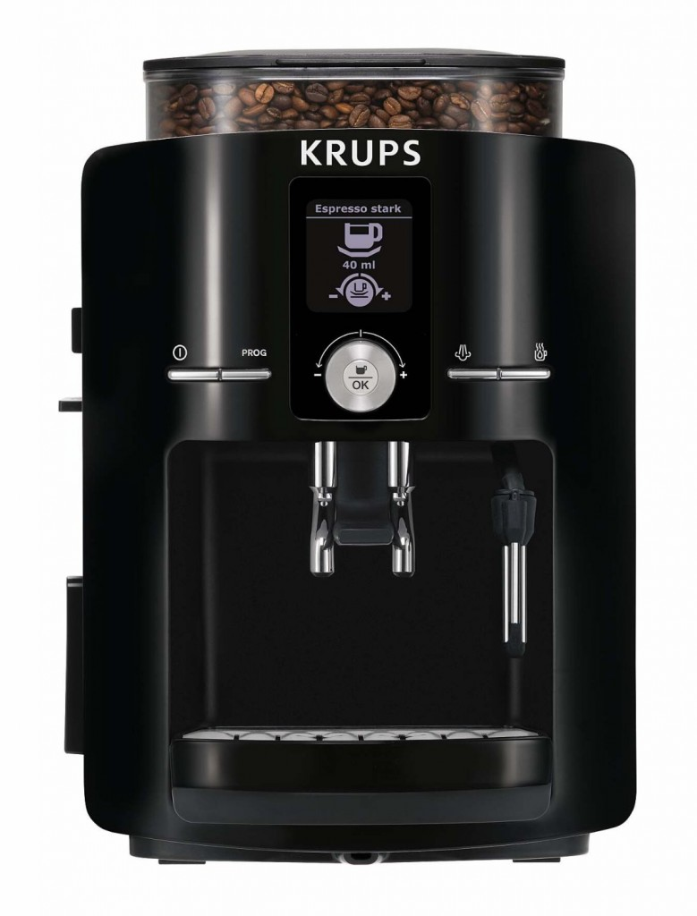 krups espresseria full automatic espresso machine super. Black Bedroom Furniture Sets. Home Design Ideas