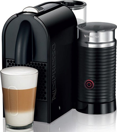 Nespresso U Pure Black Milk Espresso Machine