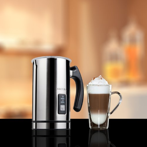 Comparing Top Selling Electric Milk Frothers Secura vs  -> Nespresso Milk Frother