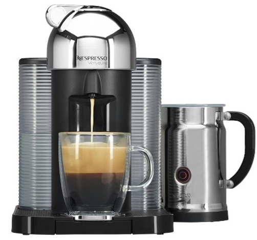 Nespresso VertuoLine with Aeroccino Plus