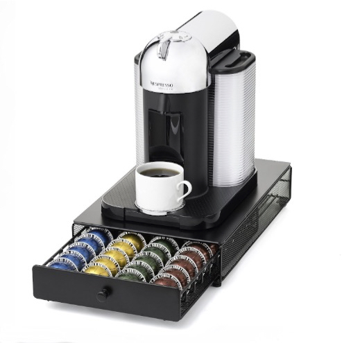 nespresso machine with pods