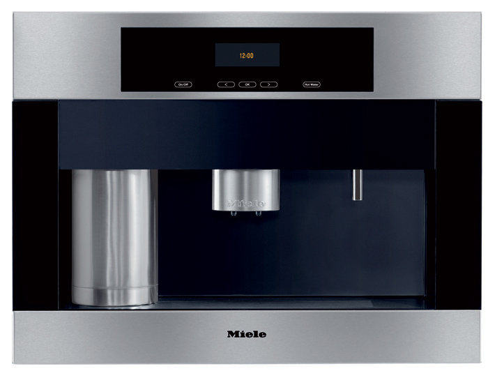 miele 39 s best built in automatic espresso machines for home super. Black Bedroom Furniture Sets. Home Design Ideas