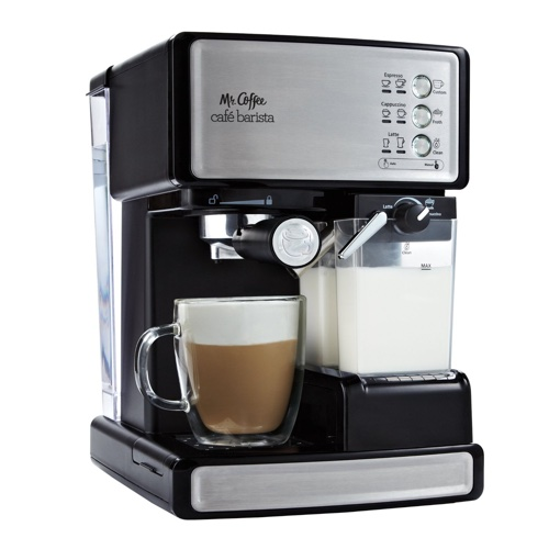 This Is A Fantastic Entry Level Espresso And Cuccino Maker For Budget Under 200 The Mr Coffee Cafe Barista Prepares Everything With Push Of