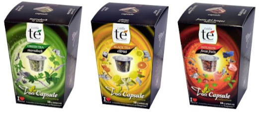 30 Nespresso Compatible Pods - Origen Tea Variety Pack- Black Citrus Tea, Marrakech Green Tea, Forest Fruit Tea
