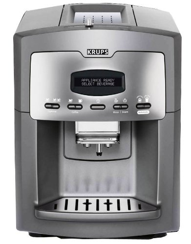 krups xp9000 super automatic espresso machine and coffee center super. Black Bedroom Furniture Sets. Home Design Ideas