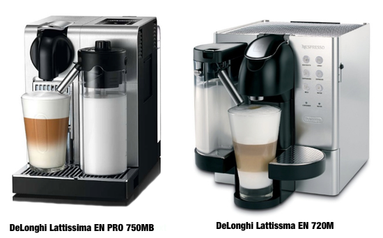 DeLonghi Lattissima Machines