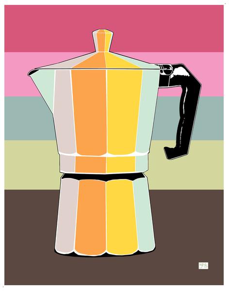 Retro Espresso Pot