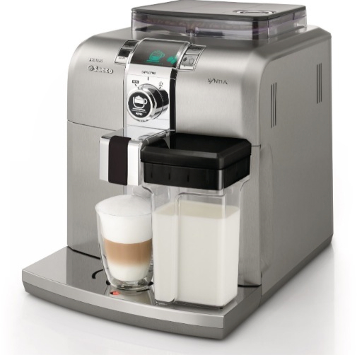 Saeco Hd8838 47 Stainless Steel Syntia Cuccino Machine