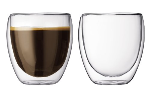 Bodum Pavina 8.5-Ounce Double-Wall Thermo Tumber_DOF Glass