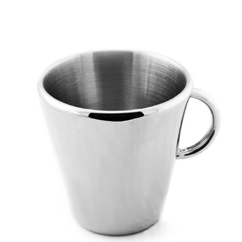 TOOLBAR Double Wall Stainless Steel Insulated Coffee Mug _ Tea Cup
