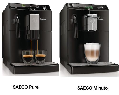 SAECO Pure vs Minuto
