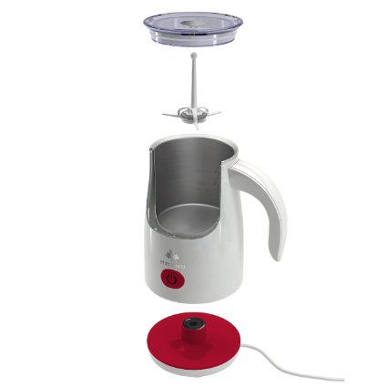 Sherwood SMF-1000R Automatic Electric Milk Frother and Warmer for Cappuccinos and Lattes_