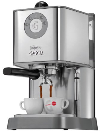 Gaggia 12500 Baby Twin Espresso Machine with Dual Heating System