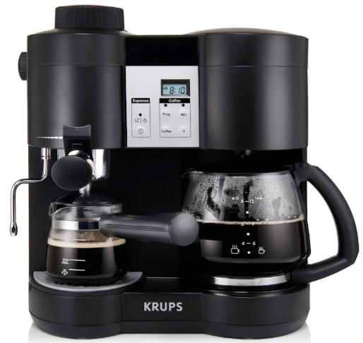 KRUPS XP1600 Coffee Maker and Espresso Machine Combination