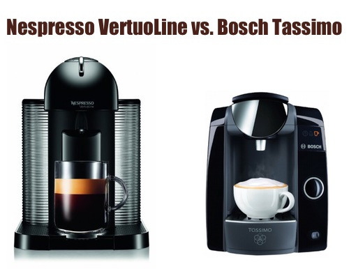 Tassimo Coffee Maker Vs Dolce Gusto : Nespresso VertuoLine vs. Bosch Tassimo, What s The Difference? Super-Espresso.com