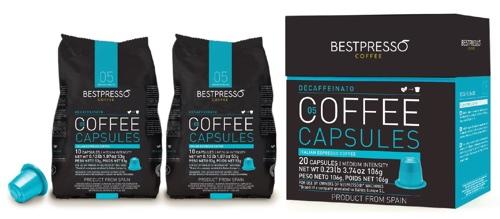 Bestpresso Decaffeinato Capsules
