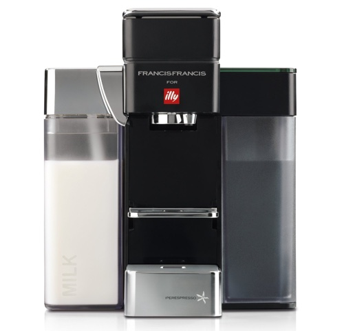 Francis Francis for Illy Y5 Milk Espresso and Coffee Machine