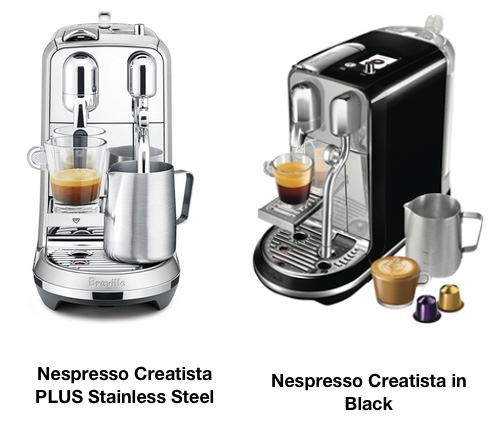 What Is The Difference Between Nespresso Creatista Vs